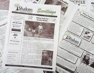 Sign up for Shalom Newsletters!